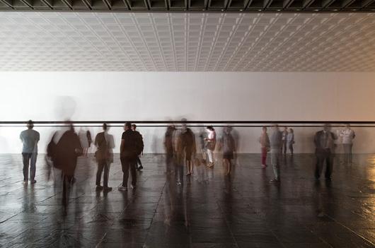Robert Irwin, David Hockney & I, YOU, WE Close Sunday